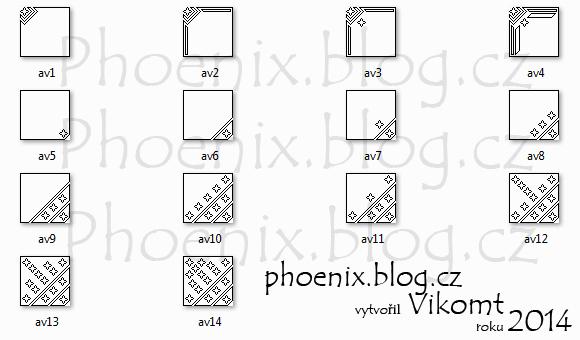 Avatar templates 08 by Vikomt