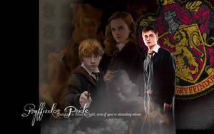 Gryffindor Pride Wallpaper by DefyingGravityxoox