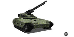 WOLVERINE Light Artillery Tank by lukenxn1234