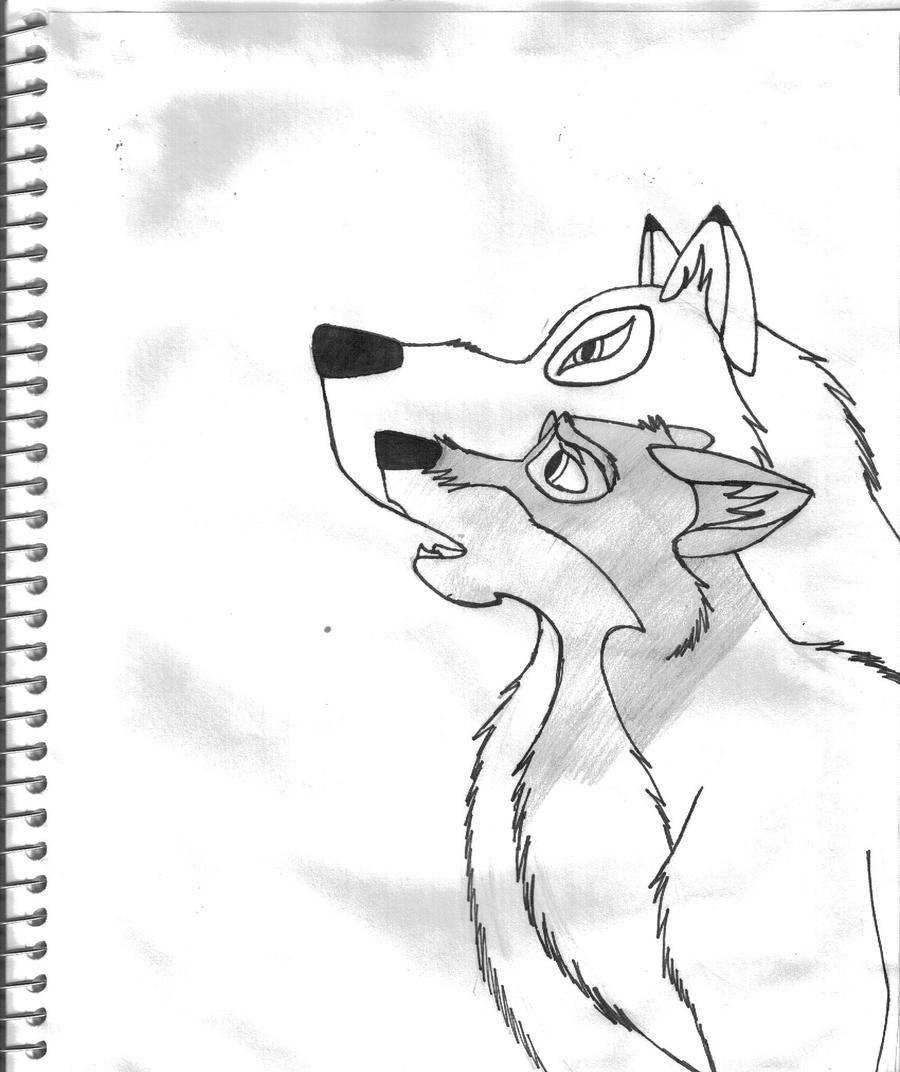 balto howling coloring pages - photo #13