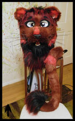Red Lion Head and Tail SOLD