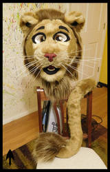 Brown Lion Head and Tail SOLD