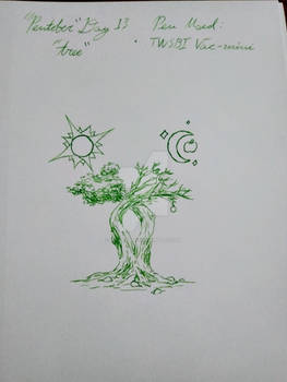 Pentober 2020 - Day 13 - Tree
