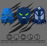Hahli Mask Evolution