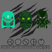 Kongu Mask evolution by Takanuva998
