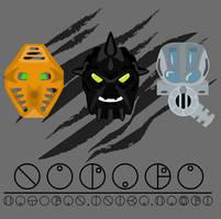 Nuparu Mask Evolution by Takanuva998