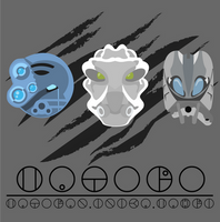 Matoro Mask Evolution by Takanuva998