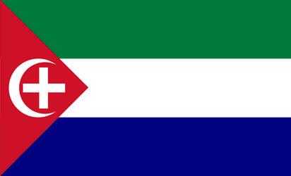 Unmenschliche Autoritat: Federation of Canaan Flag
