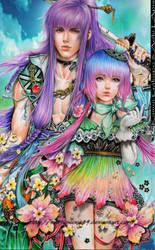 Vocaloid Gakupo kamui and Aoki Lapis by marvioxious89