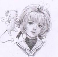 Card Captor Sakura -Sakura kinomoto in Semirealism by marvioxious89