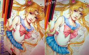 Sailormoon Semirealism fanart Preview by marvioxious89