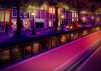 A Night In Amsterdam by Goomuin