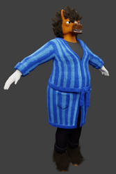 A Work in Progress of 3D Horstraw by Goomuin