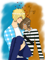 Garroth x Laurance by 711BunnyGirlCute