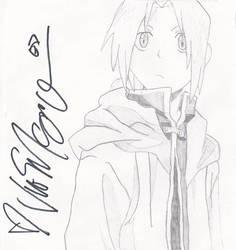 +Edward Elric+ -signed-