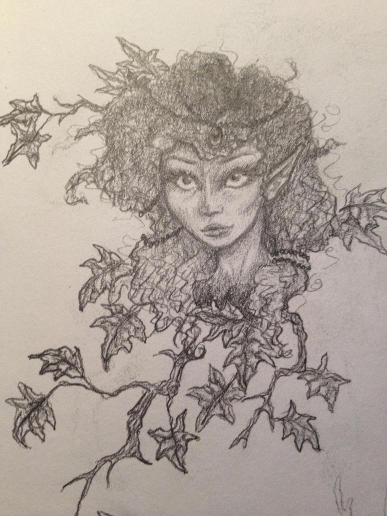 Autumn Elf by emmacairnmccallum