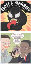 Venom as a Snake and Ring by Al4thea