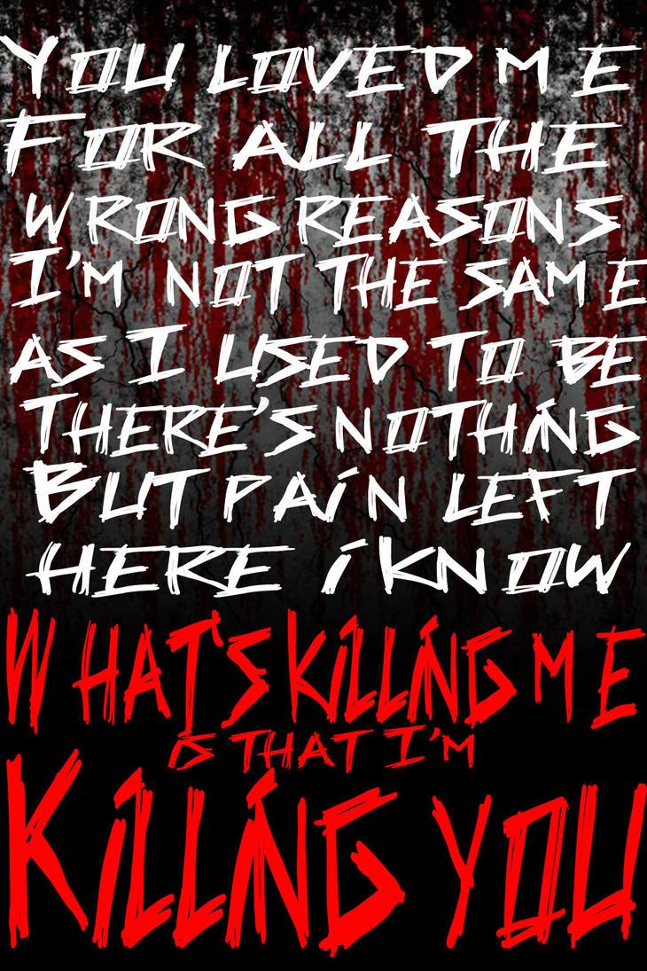Killing You- Asking Alexandria  Lyrics  by JustCallMeZoolaAsking Alexandria Lyrics Wallpaper