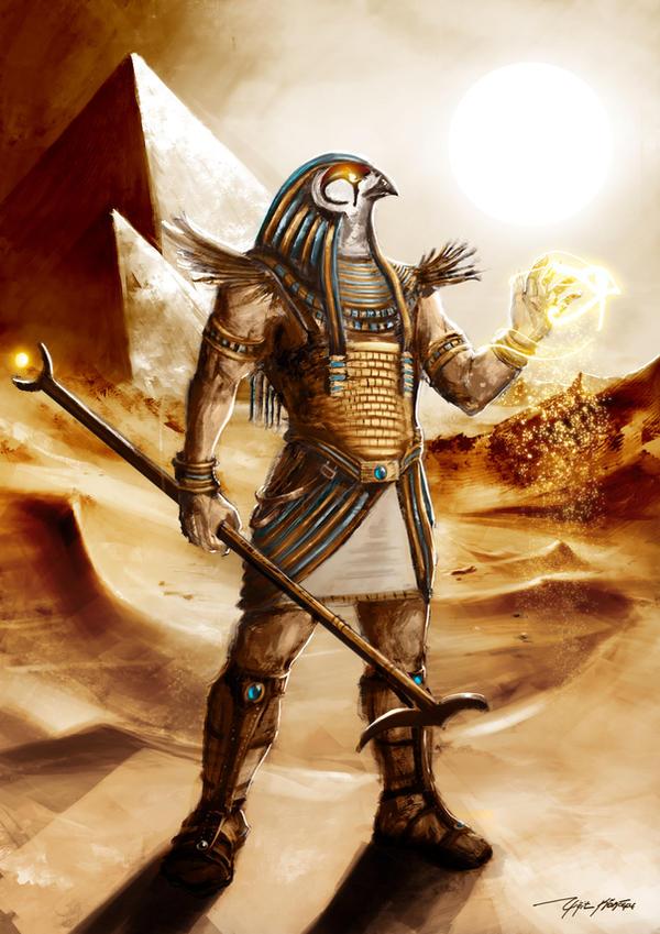 horus Horus esercita il suo potere - by yigitkoroglu DeviantArt (2009-2017) © dell'autore