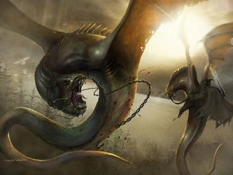 Taming a Dragon by yigitkoroglu