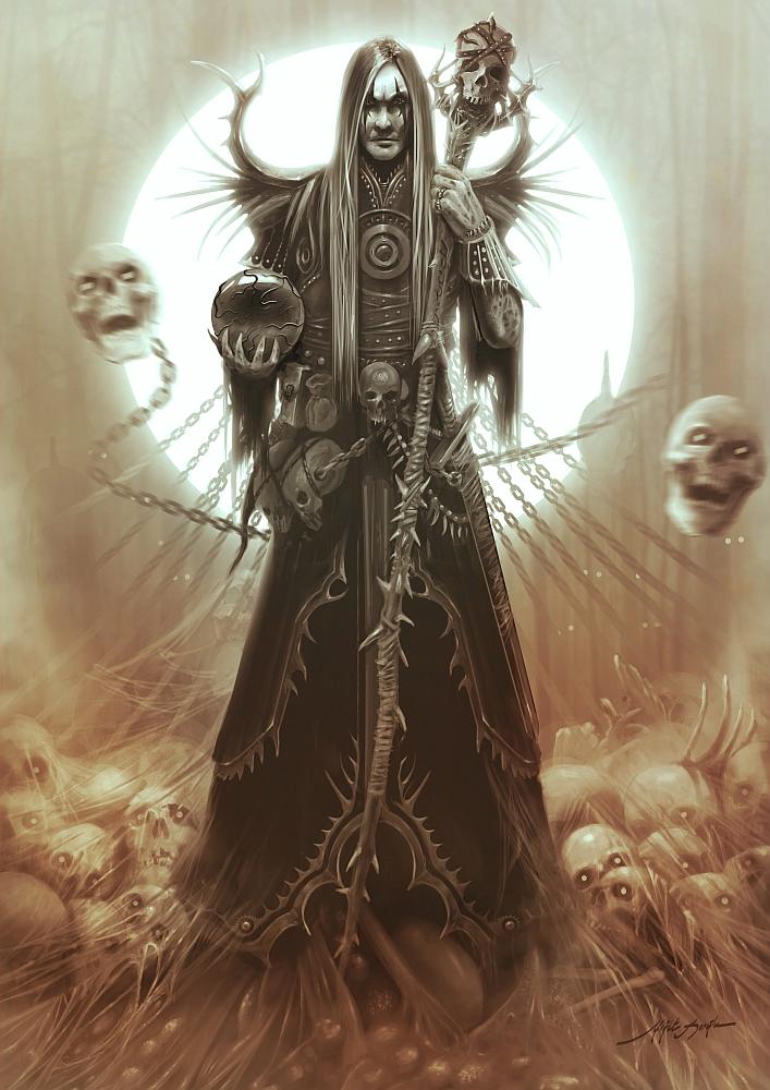 Necromancer by yigitkoroglu