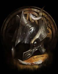 Valkyrie Helm by yigitkoroglu