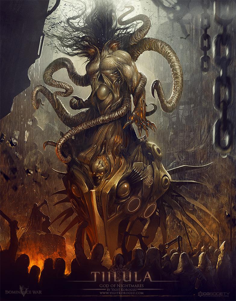 DW 5 God of Nightmares by yigitkoroglu