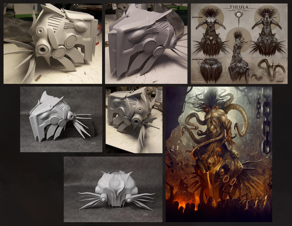 Tiilula Sculpting process by yigitkoroglu