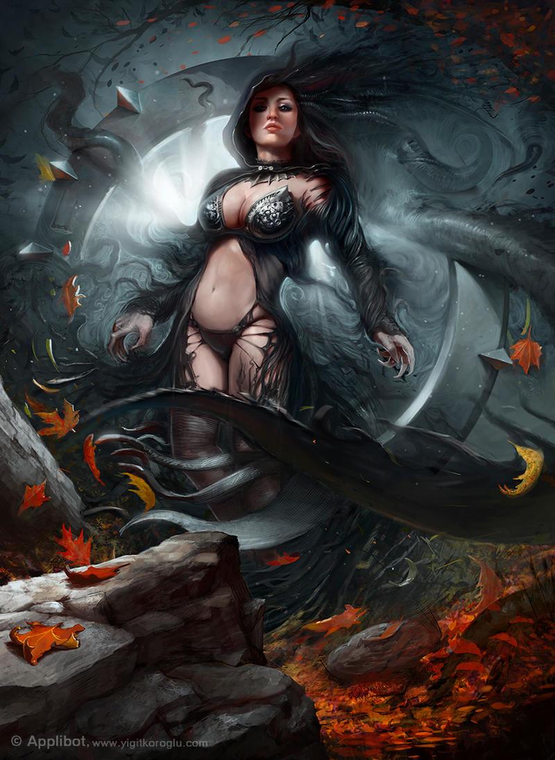 Dark Queen by yigitkoroglu