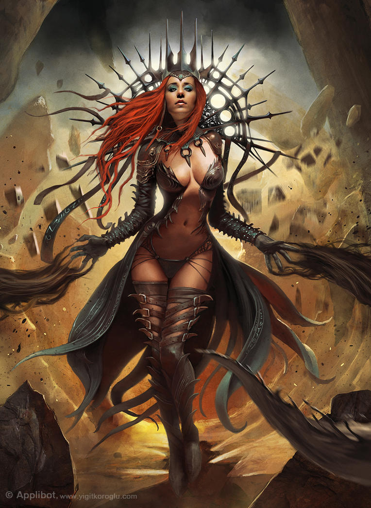 Dark Queen Advanced by yigitkoroglu