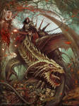 Undead dragon rider