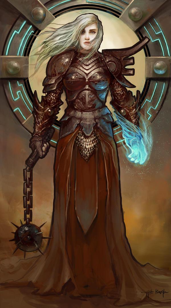 A Cleric by yigitkoroglu