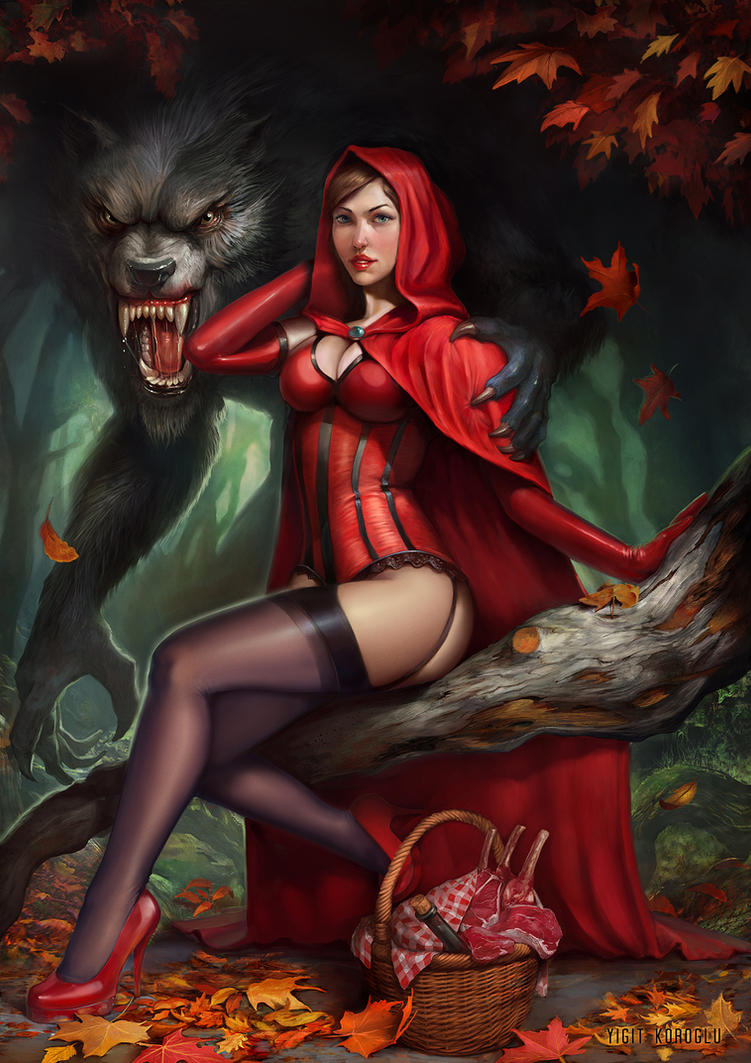 Porn version of Little Red Riding Hood accidentally sent