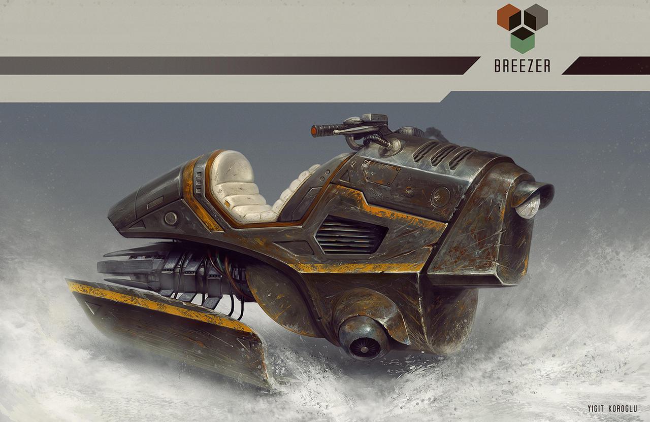 Breezer by yigitkoroglu