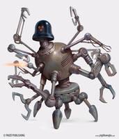 Reclamation Robot by yigitkoroglu