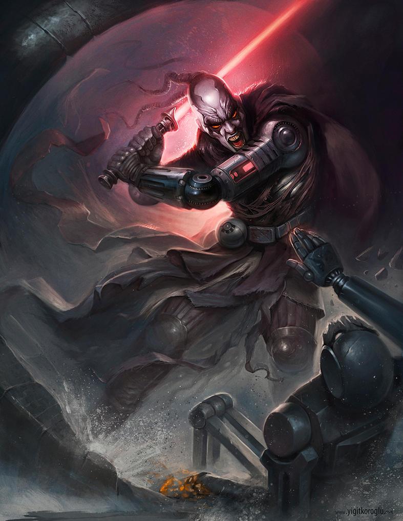 A Sith Lord by yigitkoroglu