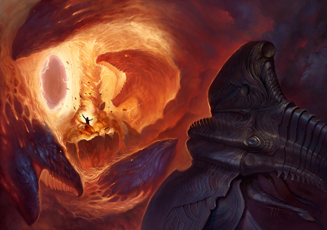 Creation of Hell Part 4 by yigitkoroglu