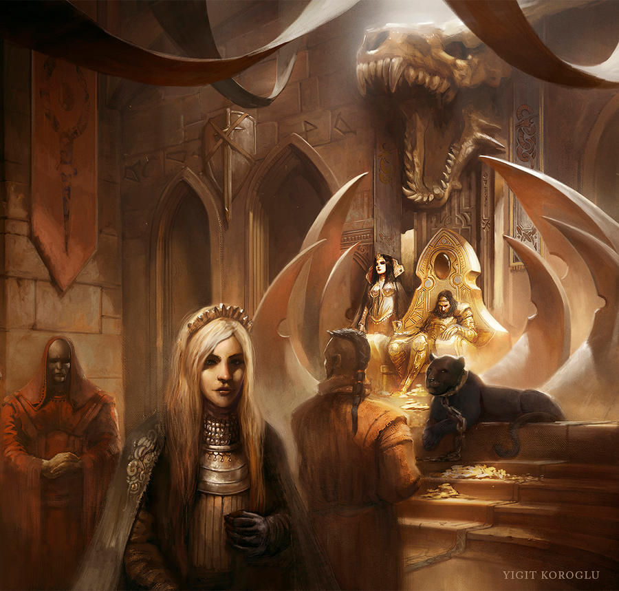 Tales From The Kings Court by yigitkoroglu