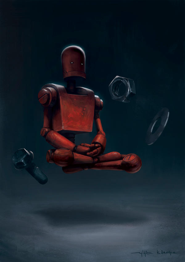Deep Meditation by yigitkoroglu