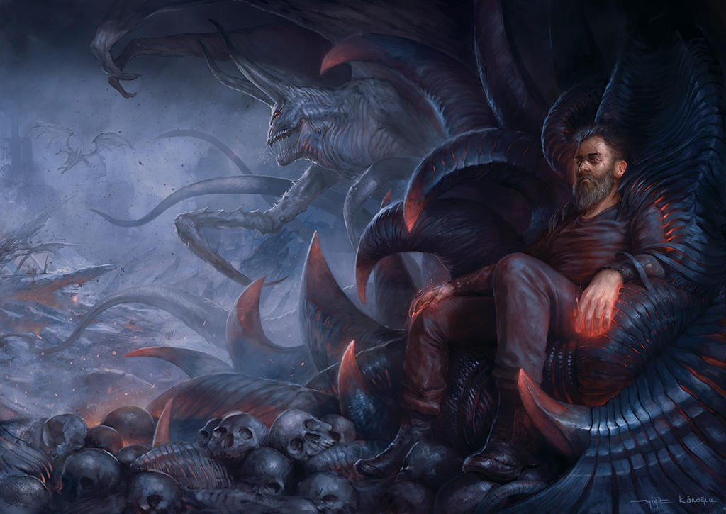 The Cursed Throne by yigitkoroglu
