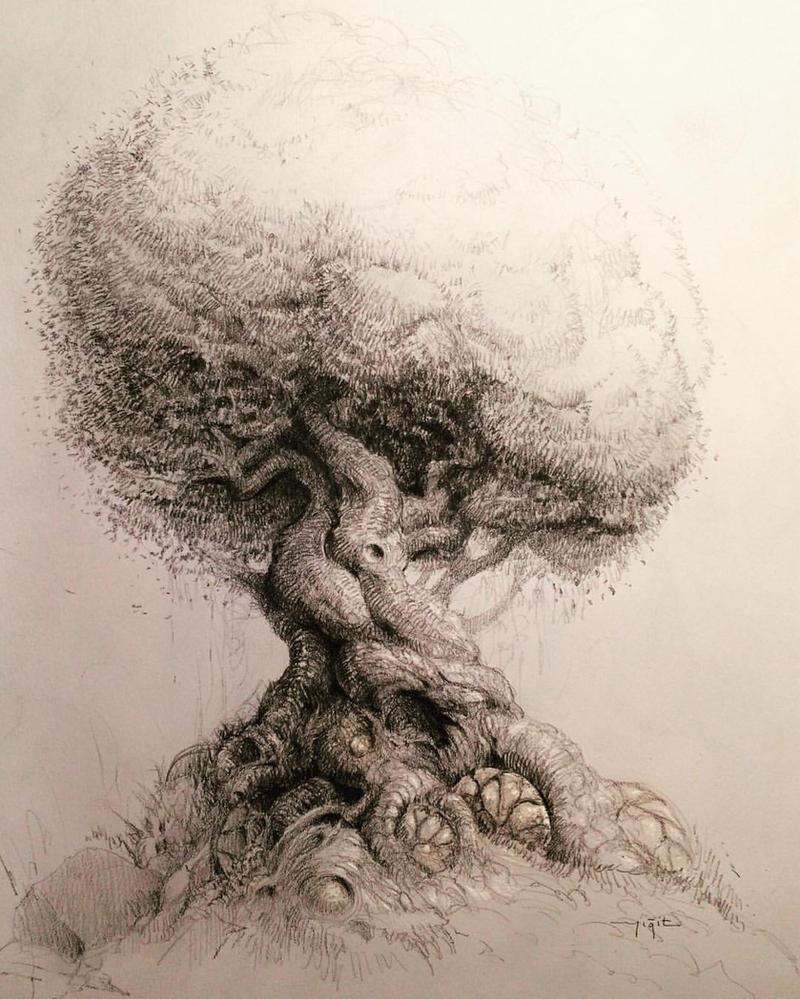 Alien tree by yigitkoroglu
