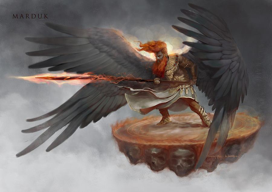 Marduk by yigitkoroglu