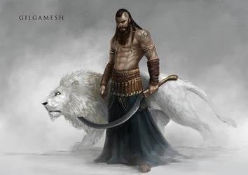 Gilgamesh by yigitkoroglu