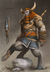Enkidu by yigitkoroglu