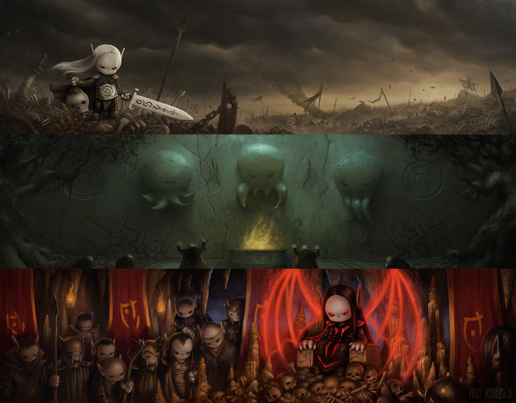 Immortal Darkness Cinematics by yigitkoroglu
