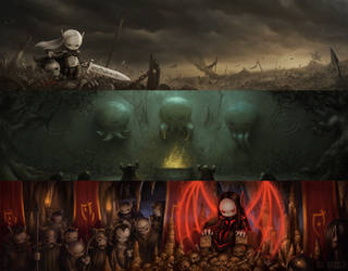 Immortal Darkness Cinematics by yigitkoroglu