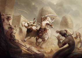 Defenders of Ardash by yigitkoroglu