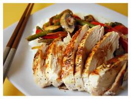 Szechuan Chicken by cb-smizzle