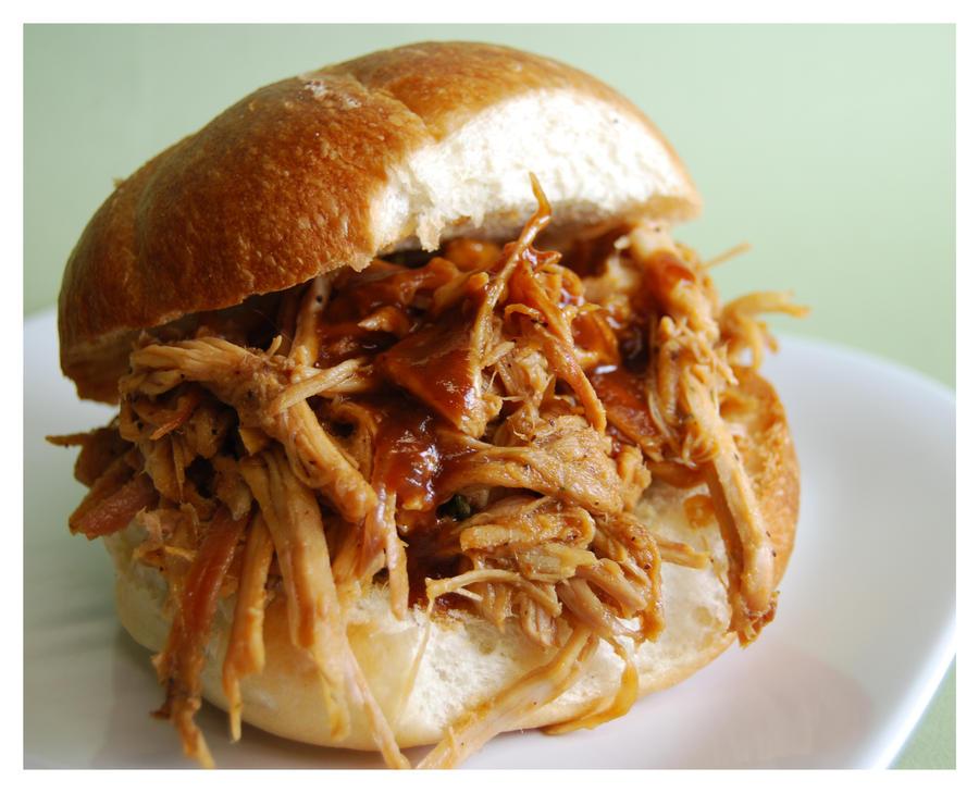 Pulled Pork Sandwich by cb-smizzle on deviantART
