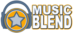 Music Blend Logo by cb-smizzle